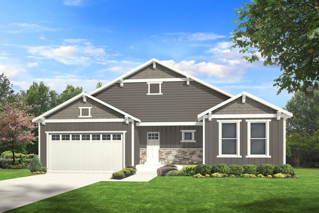 allison craftsman house plan 3d rendering
