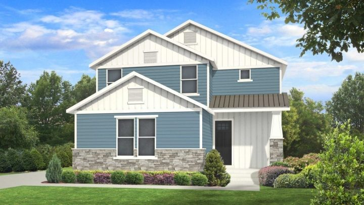 nicholas traditional house plan 3d rendering