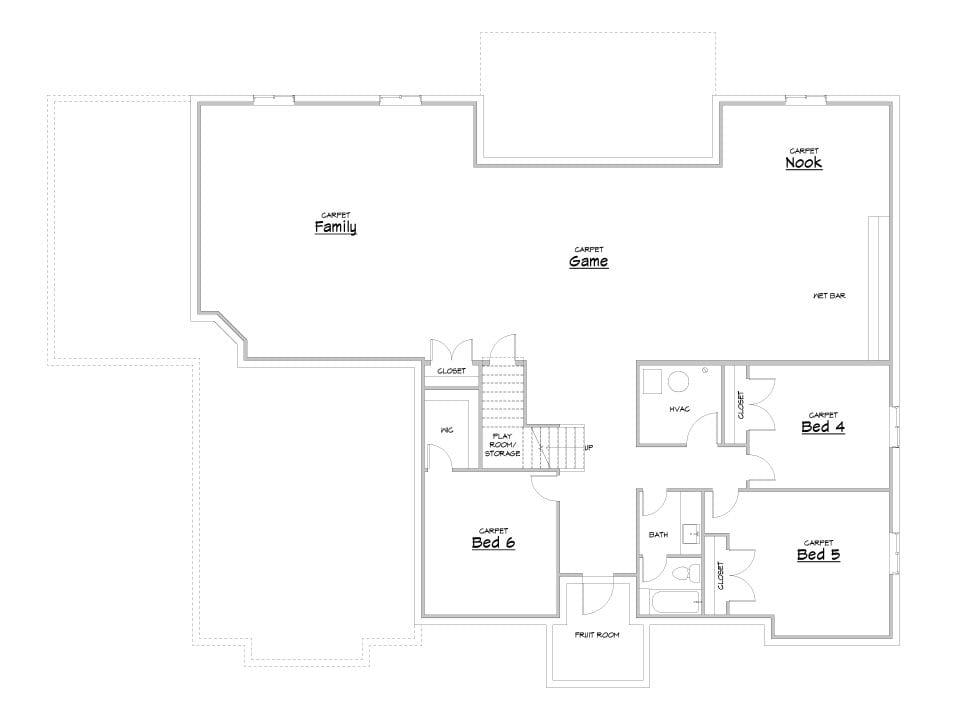 beacon hill house plan floor plan