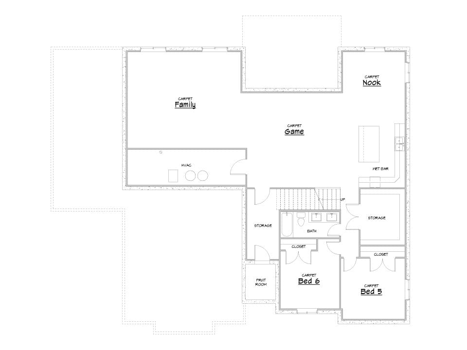 highline house plan floor plan