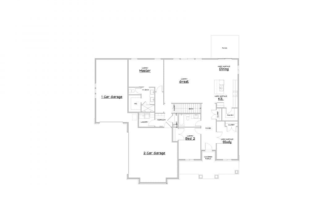 kirkland house plan floor plan