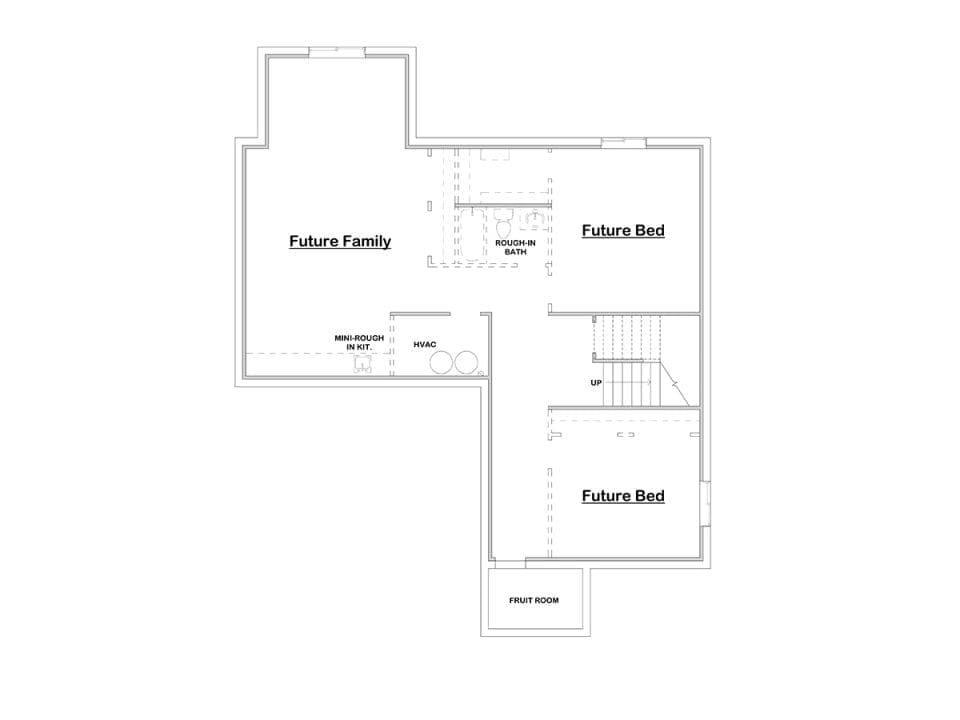 pasadena house plan floor plan