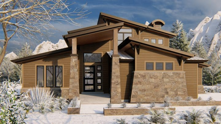 Scotts Bluff - Rendering - Mt. Modern