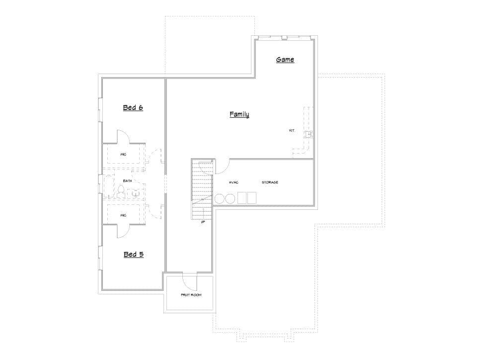 scotts bluff house plan floor plan