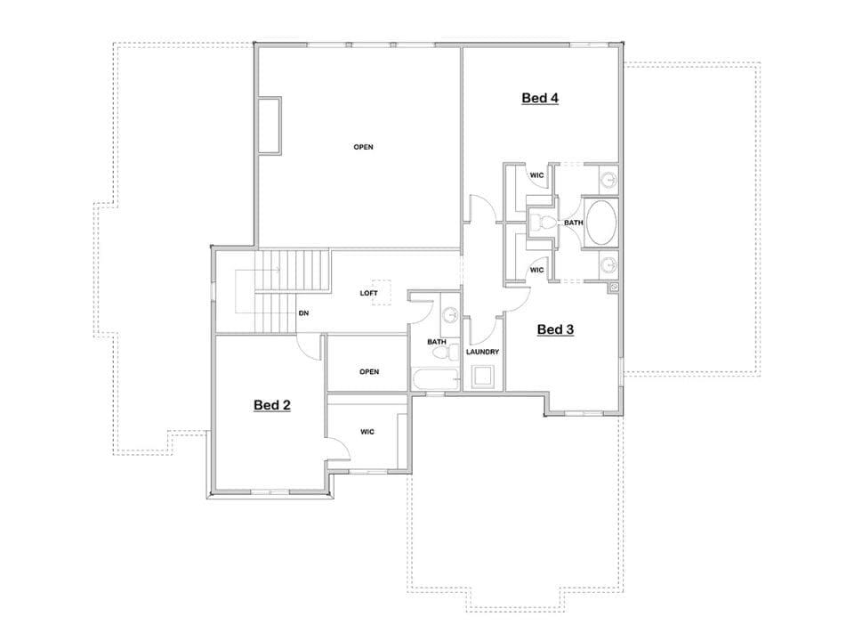 tacoma house plan floor plan