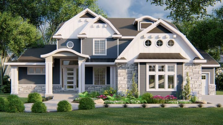 Newgate Hampton House Plan Rendering