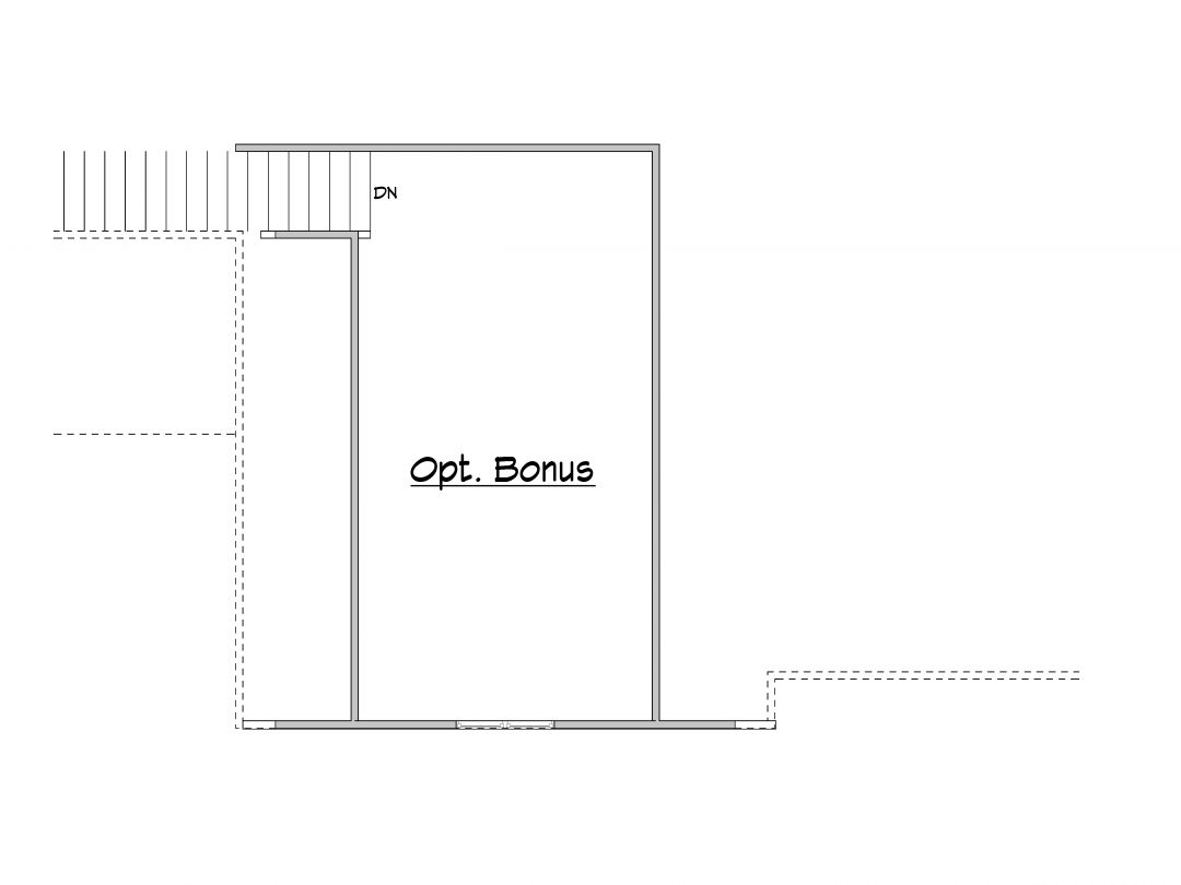Stillwater Optional Bonus House Plan
