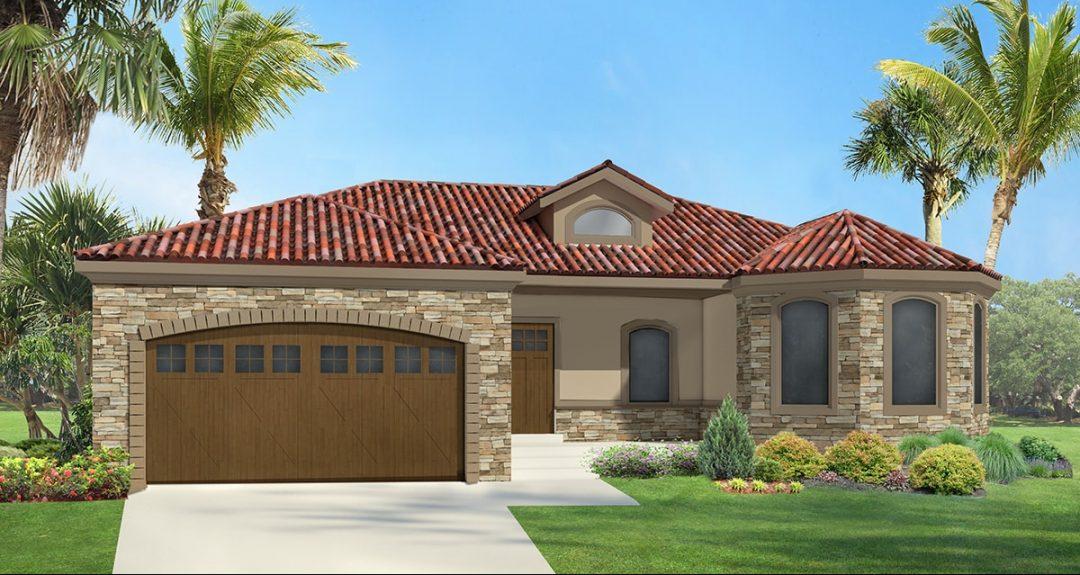 allison mediterranean house plan 3d rendering