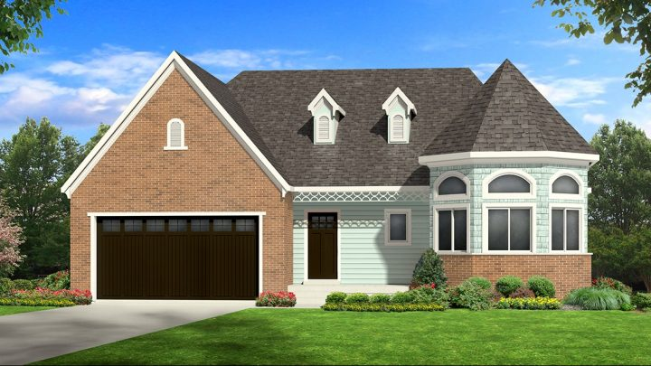 allison victorian house plan 3d rendering