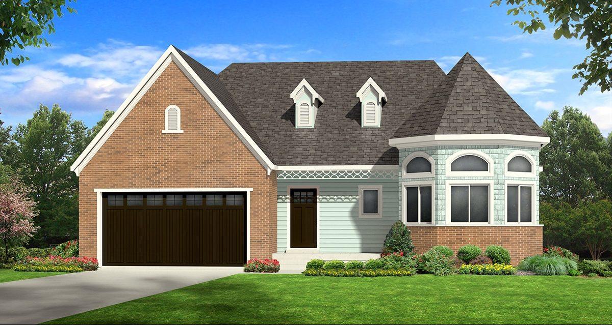 allison victorian house plan 3d rendering