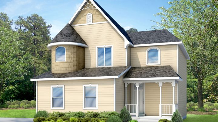 nicholas victorian house plan 3d rendering